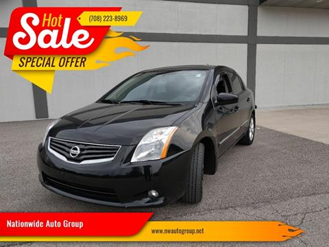 2011 Nissan Sentra for sale at Nationwide Auto Group in Melrose Park IL
