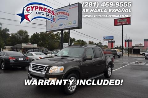 2008 Ford Explorer Sport Trac for sale in Houston, TX