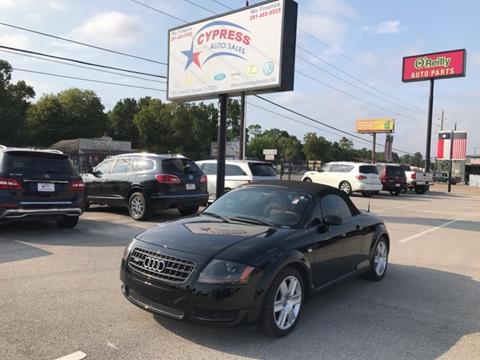 Tt Auto Sales >> 2003 Audi Tt For Sale In Houston Tx