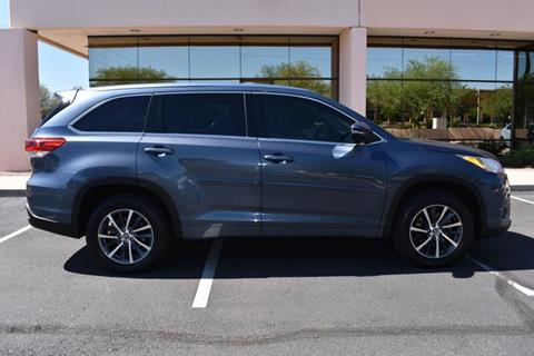 2017 Toyota Highlander for sale in Phoenix, AZ