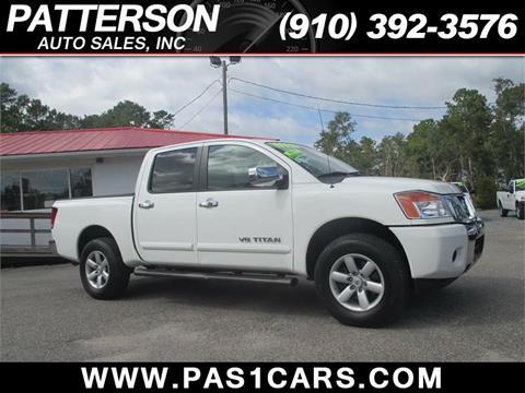 2013 Nissan Titan for sale in Wilmington, NC