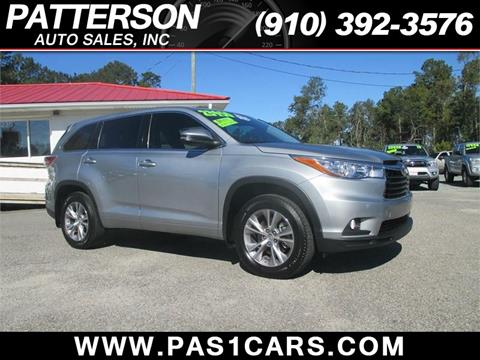 2015 Toyota Highlander for sale in Wilmington, NC