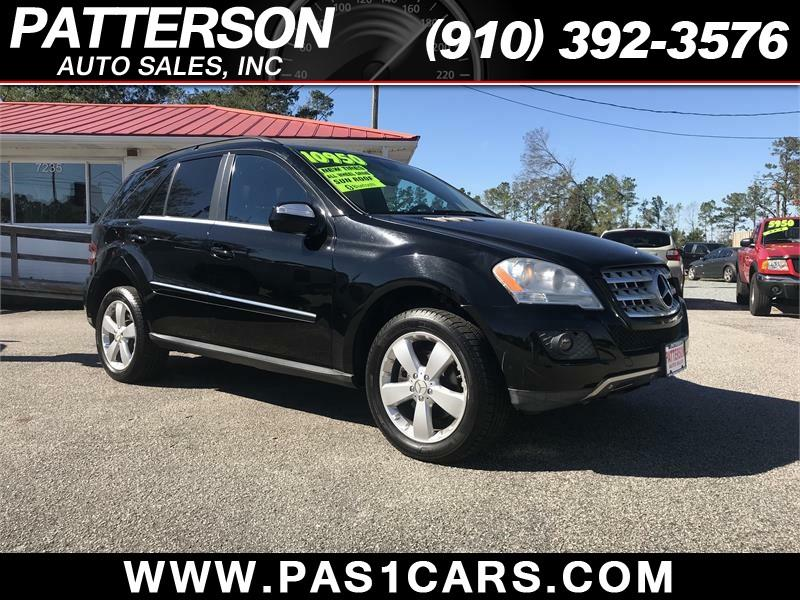 2010 Mercedes Benz M Class AWD ML 350 4MATIC 4dr SUV   Wilmington NC
