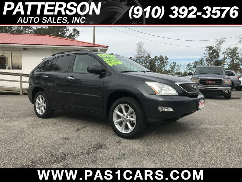 2009 lexus rx 350 4dr suv in wilmington nc patterson auto sales. Black Bedroom Furniture Sets. Home Design Ideas