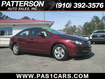 2013 Honda Civic for sale in Wilmington, NC