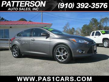 2013 Ford Focus for sale in Wilmington, NC