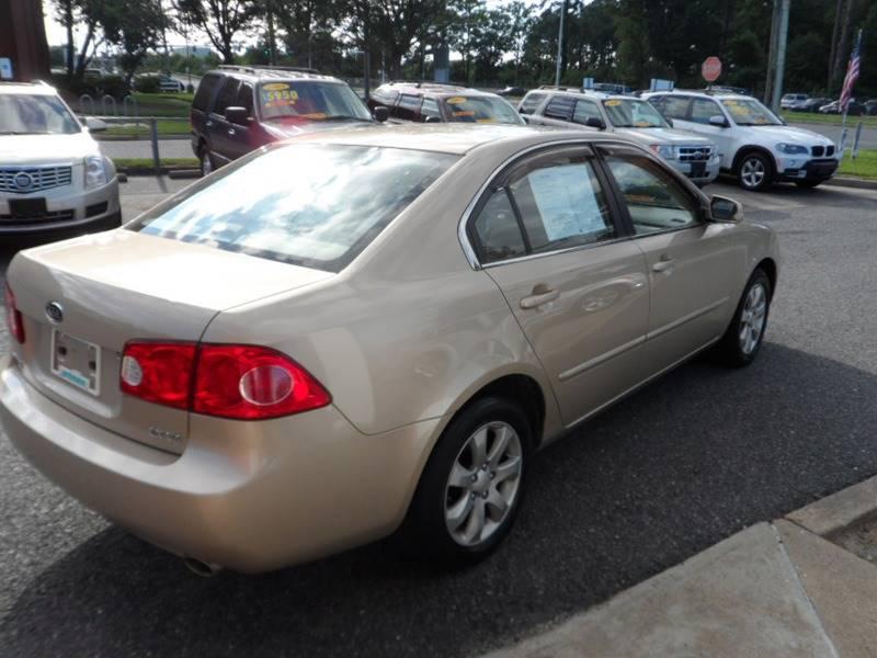 2008 Kia Optima LX 4dr Sedan (2.7L V6 5A) - Norfolk VA