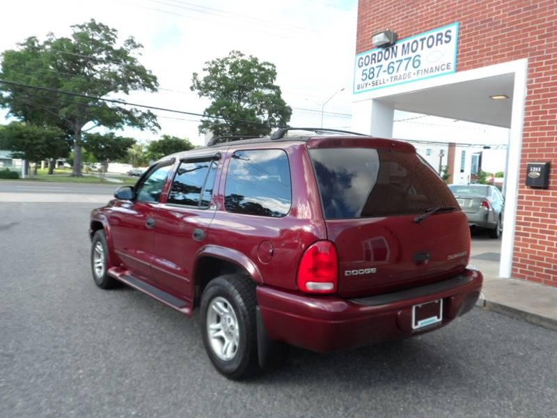 2002 Dodge Durango SLT 2WD 4dr SUV - Norfolk VA