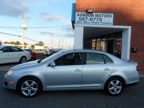 2008 Volkswagen Jetta for sale at Gordon Motor Auto Sales Inc. in Norfolk VA
