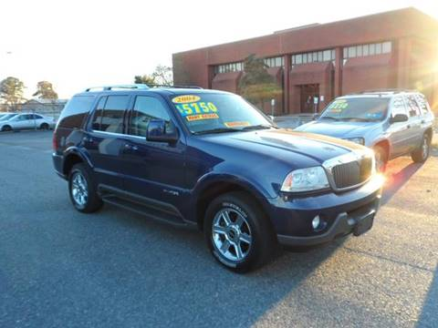 2004 Lincoln Aviator for sale at Gordon Motor Auto Sales Inc. in Norfolk VA