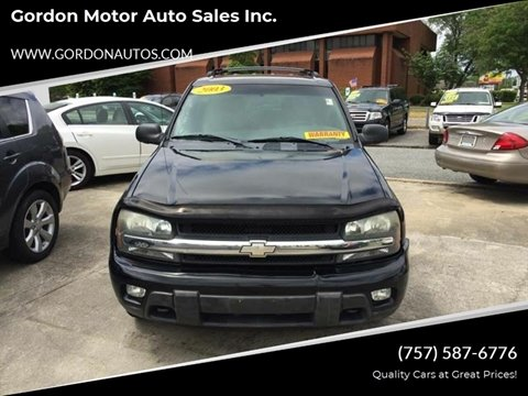 Chevrolet For Sale In Norfolk Va Gordon Motor Auto Sales Inc