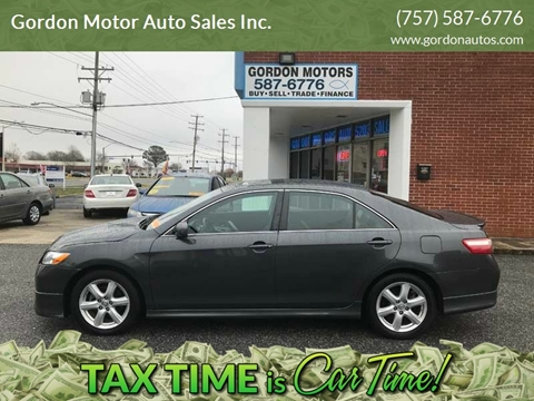 2009 Toyota Camry for sale at Gordon Motor Auto Sales Inc. in Norfolk VA