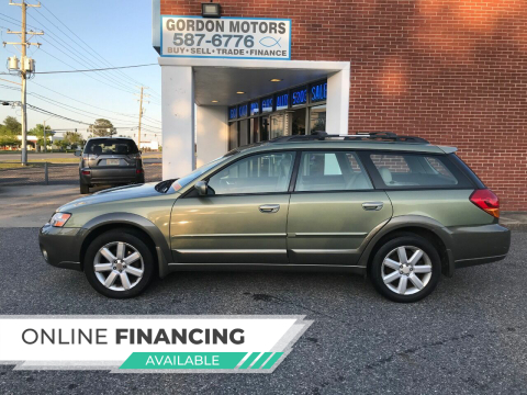 2006 Subaru Outback for sale at Gordon Motor Auto Sales Inc. in Norfolk VA