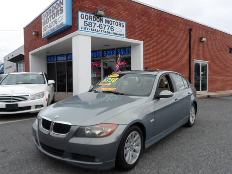 2006 BMW 3 Series for sale at Gordon Motor Auto Sales Inc. in Norfolk VA