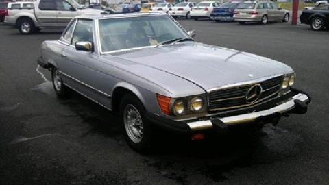 1979 Mercedes-Benz SL-Class for sale at Easy Ride Auto Sales Inc in Chester VA