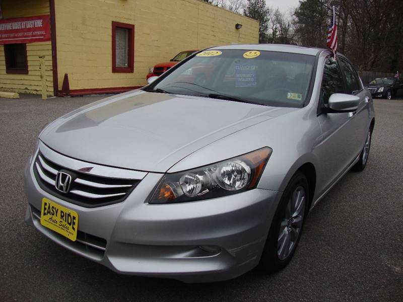 2012 Honda Accord For Sale At Easy Ride Auto Sales Inc In Chester VA