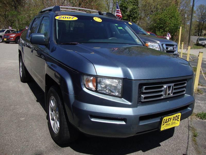 2007 Honda Ridgeline For Sale At Easy Ride Auto Sales Inc In Chester VA