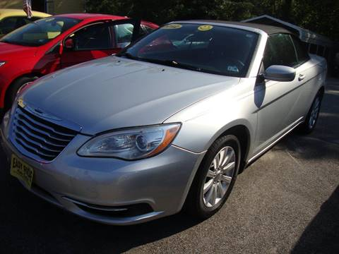 2012 Chrysler 200 Convertible for sale in Chester, VA