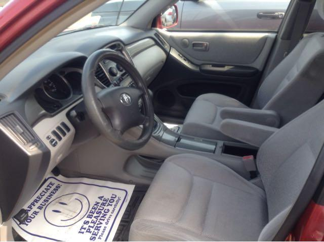 2003 Toyota Highlander Fwd 4dr SUV - Beaumont TX