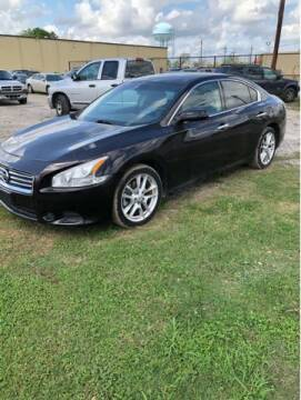 2012 Nissan Maxima for sale at Jerry Allen Motor Co in Beaumont TX