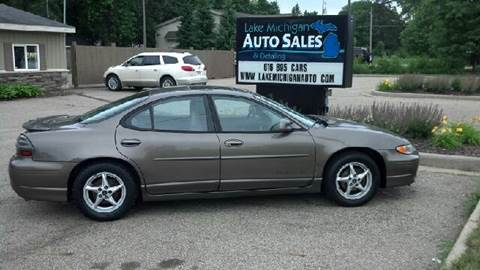 2000 Pontiac Grand Prix for sale at Lake Michigan Auto Sales & Detailing in Allendale MI