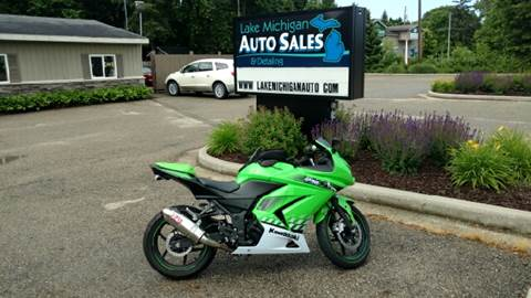 2010 Kawasaki EX250-J for sale at Lake Michigan Auto Sales & Detailing in Allendale MI