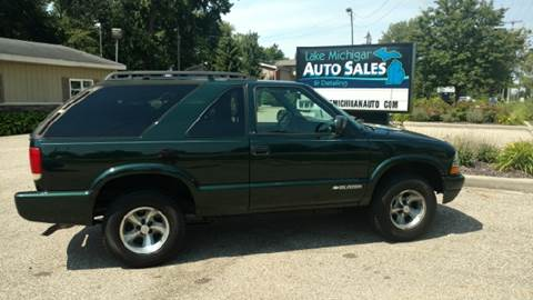 2003 Chevrolet Blazer for sale at Lake Michigan Auto Sales & Detailing in Allendale MI