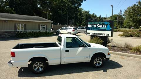 2003 Chevrolet S-10 for sale at Lake Michigan Auto Sales & Detailing in Allendale MI