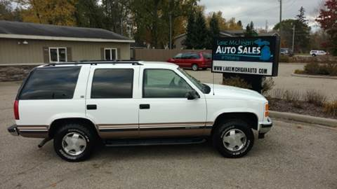 1998 GMC Yukon for sale at Lake Michigan Auto Sales & Detailing in Allendale MI