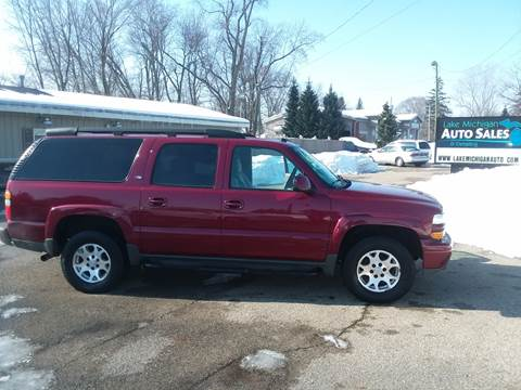 used 2005 chevrolet suburban for sale in michigan. Black Bedroom Furniture Sets. Home Design Ideas