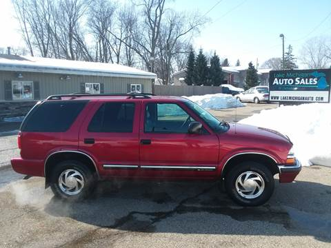 2001 Chevrolet Blazer for sale at Lake Michigan Auto Sales & Detailing in Allendale MI