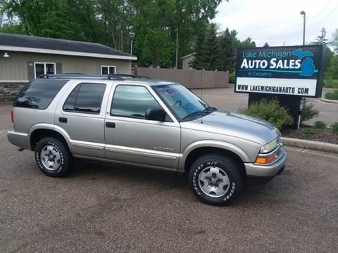 2002 Chevrolet Blazer For Sale In Allendale Mi