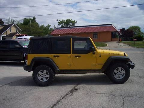 2008 Jeep Wrangler Unlimited for sale in Mason City, IA