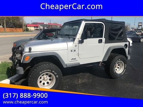 2004 Jeep Wrangler for sale in Greenwood, IN