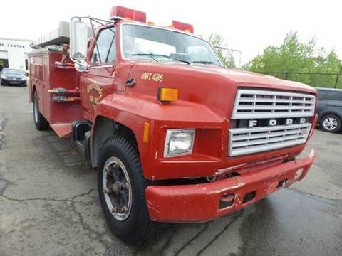 1984 Fire Truck Ford F700