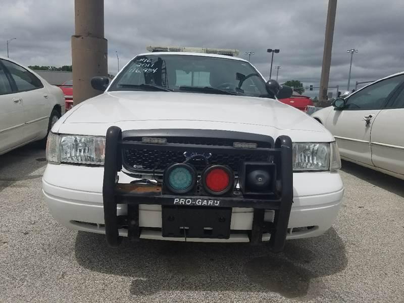 2011 Ford Crown Victoria Police Interceptor Pursuit 4dr Sedan (3.55 Axle) - Kansas City MO