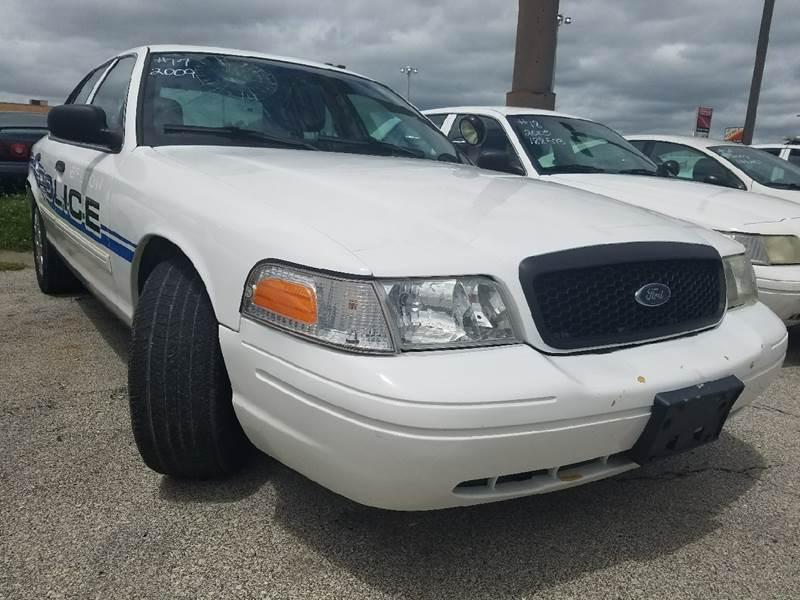 2009 Ford Crown Victoria Police Interceptor 4dr Sedan (3.55 Axle) - Kansas City MO