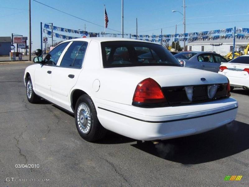 Ford Crown Victoria Police Interceptor Axle Dr Sedan - 2001 crown victoria