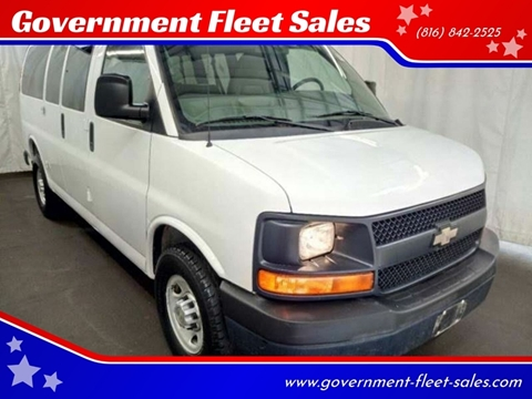 Van Chevrolet Kc >> Chevrolet Express Passenger For Sale In Kansas City Mo Government