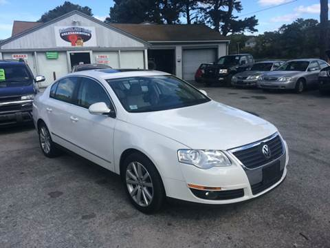 2010 Volkswagen Passat for sale at Falmouth Auto Center in East Falmouth MA