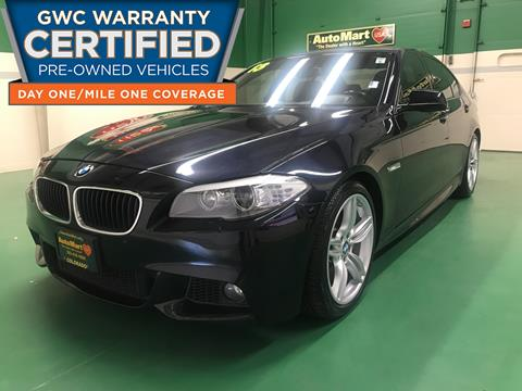 2013 BMW 5 Series for sale in Aurora, CO