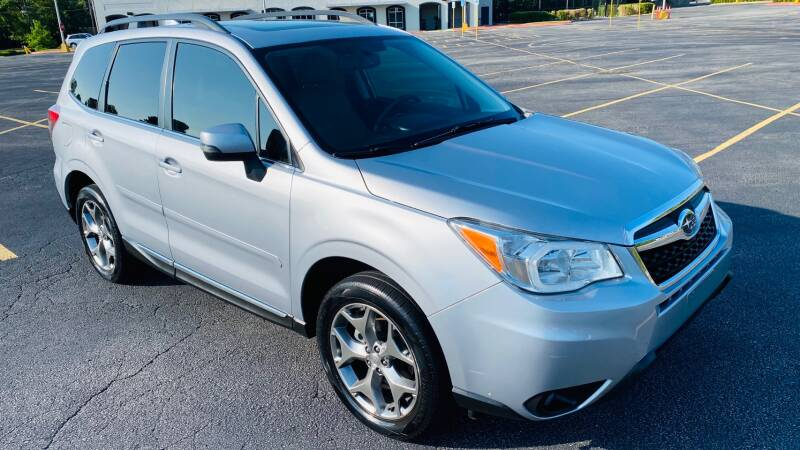 2016 Subaru Forester for sale at H & B Auto in Fayetteville AR