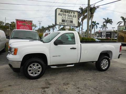 2013 GMC Sierra 2500HD for sale at Aubrey's Auto Sales - Domestic in Delray Beach FL