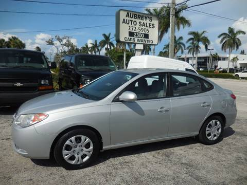 2010 Hyundai Elantra for sale at Aubrey's Auto Sales - Foreign in Delray Beach FL