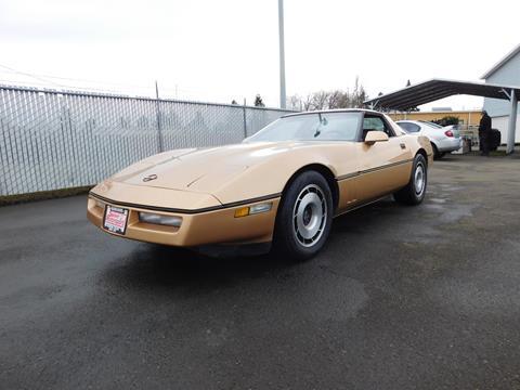 Used 1984 Chevrolet Corvette For Sale Carsforsalecom
