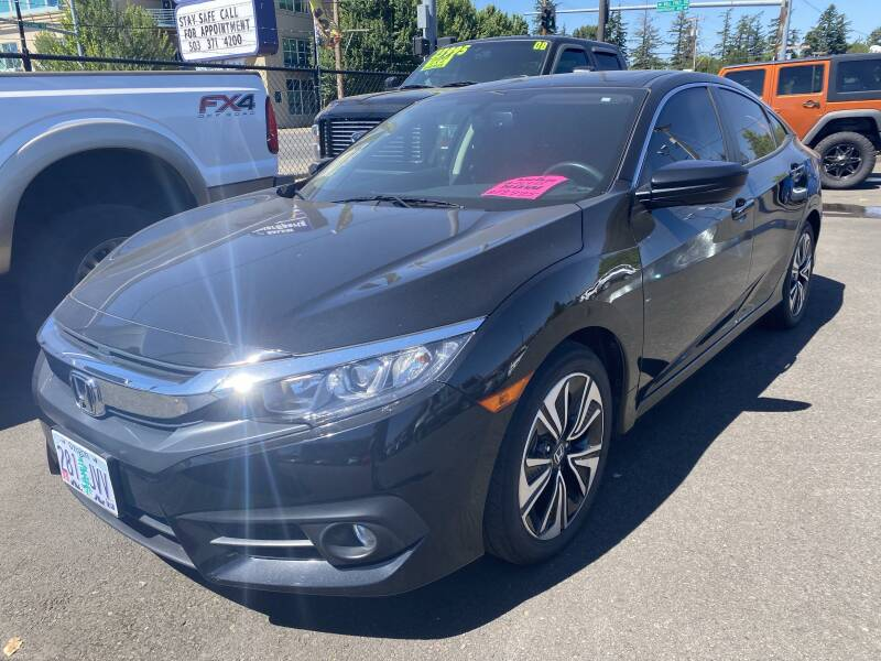 2017 Honda Civic for sale at Salem Motorsports in Salem OR