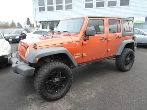 2011 Jeep Wrangler Unlimited for sale at Salem Motorsports in Salem OR