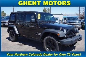 2015 Jeep Wrangler Unlimited for sale in Greeley, CO