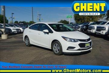 2016 Chevrolet Cruze for sale in Greeley, CO