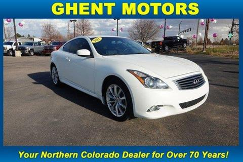 2011 Infiniti G37 Coupe for sale in Greeley, CO